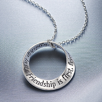 Friendship Silver Pendant