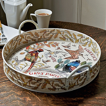 Gamebirds Tin Tray