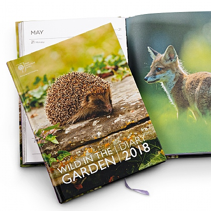 Wild in the Garden Desk Diary 2018