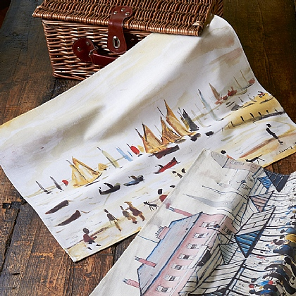 Yachts Tea Towel