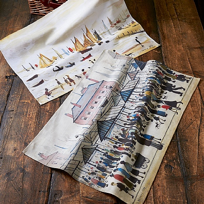 Set of 2 Lowry Tea Towels