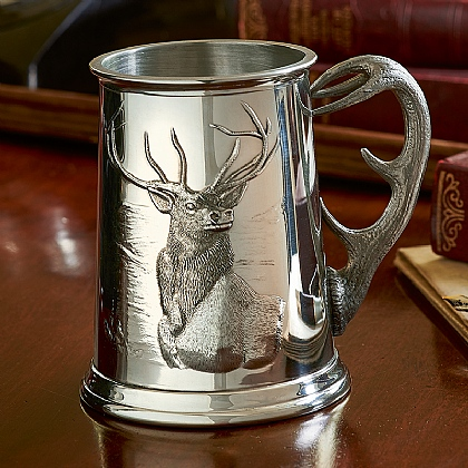 Monarch of the Glen Pewter Tankard