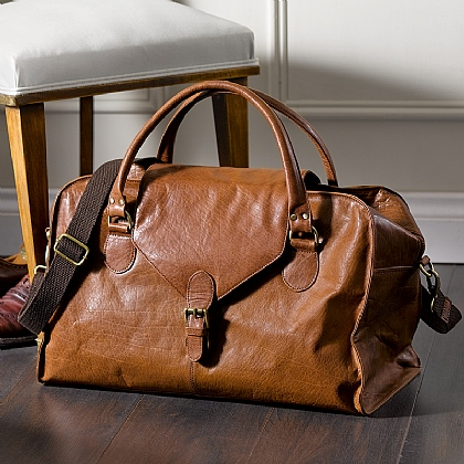 Ramsay Leather Holdall