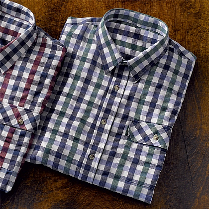 Green Bold Tattersall Check Shirt