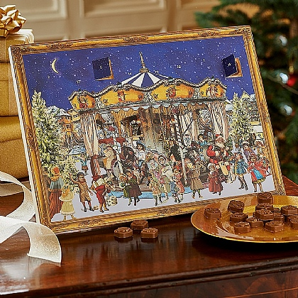 Carousel Chocolate Advent Calendar