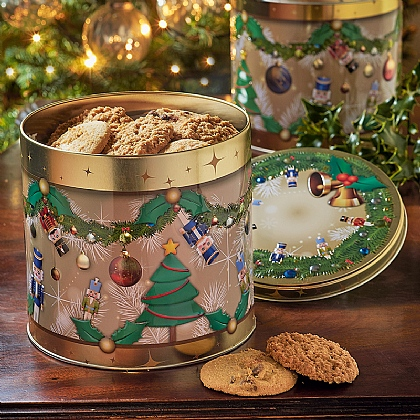 Nutcracker Biscuit Trio Tin