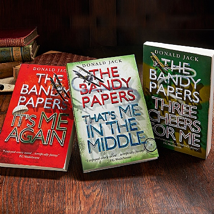 Set of 3 Bandy Papers Novels