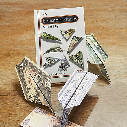 Banknote Paper Planes