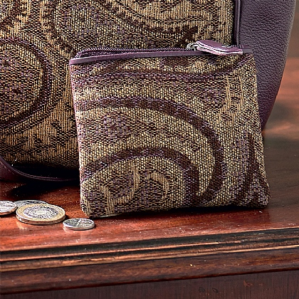 Paisley Tapestry Purse