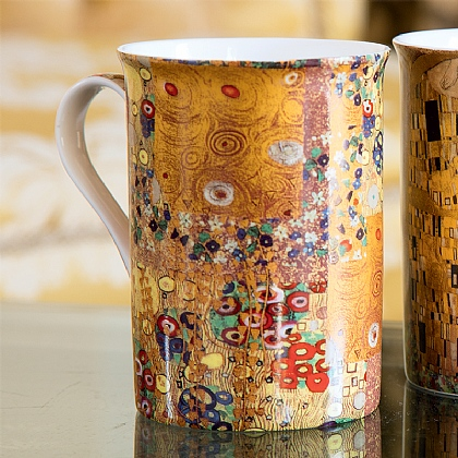 Klimt Detail China Mug