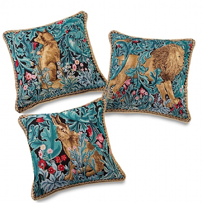 Set of 3 Morris Tapestry Cushions