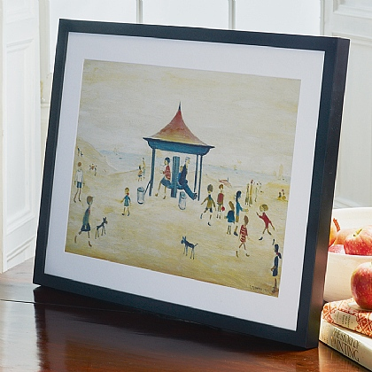 Lowry On The Sands Print