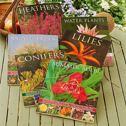 Set of 6 Gardening Books