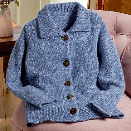 Bluebell Wool Cardigan