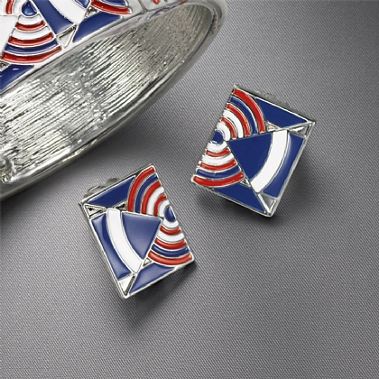 Despres Enamel Earrings