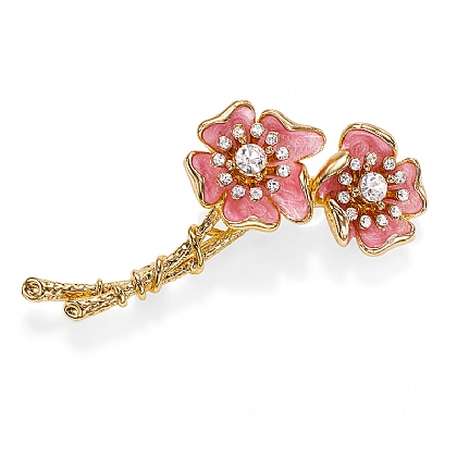 Wild Rose Brooch