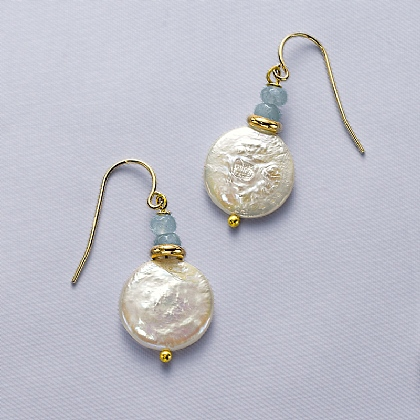 Elsie Jade & Pearl Earrings