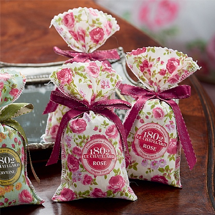 3 Rose Scented Sachets