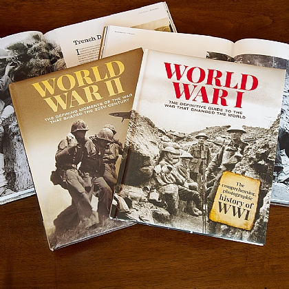 Photographic Histories of World War I and II