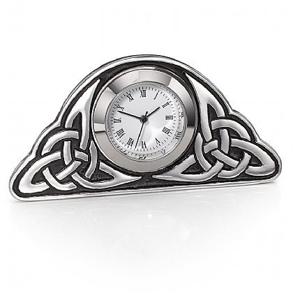 Celtic Pewter Clock