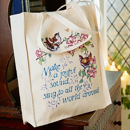 Make a Joyful Sound Tote Bag