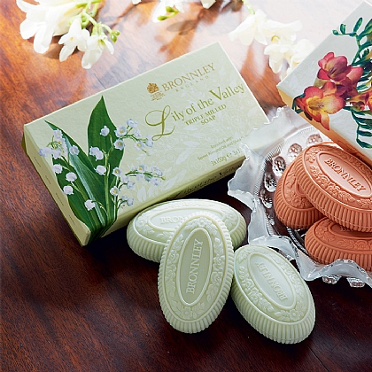 Lily of the Valley Soap Set