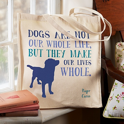 Dogs Cotton Tote Bag