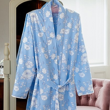 Trailing Blooms Dressing Gown