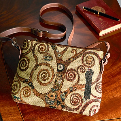 9cb3dee65c ... Klimt Tree of Life Tapestry Bag
